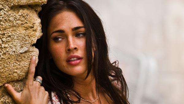 Megan Fox in a scene from the 2009 film Transformers: Revenge of the Fallen. - Provided courtesy of DreamWorks Pictures