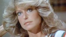 Farrah Fawcett appears in a scene from the 1970s series Charlies Angels. - Provided courtesy of ABC