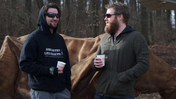 Bam Margera and Ryan Dunn appear in this photo posted on Margeras Facebook page on Oct. 8, 2010. Dunn died in a car crash on June 20, 2011. - Provided courtesy of facebook.com/pages/Bam-Margera/35016571373