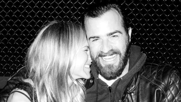 Jennifer Aniston and Justin Theroux appear in a photo posted on Terry Richardsons Tumblr page, TerrysDiary.com. - Provided courtesy of Photo courtesy of Terry Richardson, TerrysDiary.com