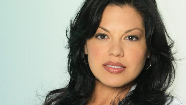 Sara Ramirez appears in a promotional photo for season 7 of 'Grey's Anatomy.'