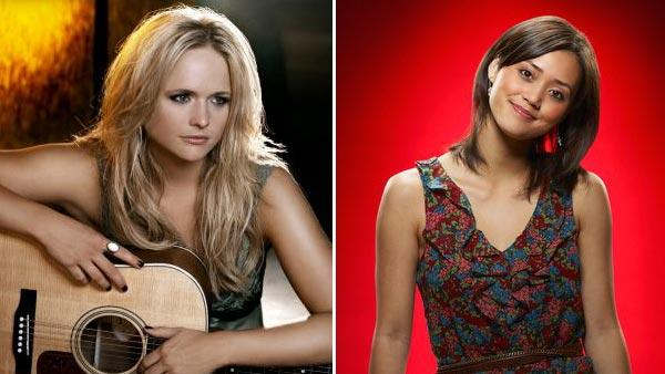 Miranda Lambert appears in a still from her More Like Her music video. / Dia Frampton appears in a promotional photo for The Voice. - Provided courtesy of OTRC / MirandaLambert.com / Randee St. Nicholas / NBC