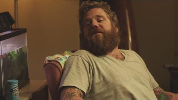 Ryan Dunn appears in a still from the trailer to Living Will. - Provided courtesy of OTRC / Kphat Productions