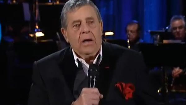 Jerry Lewis appears on the 2010 MDA Telethon in September 2010. - Provided courtesy of Muscular Dystrophy Association