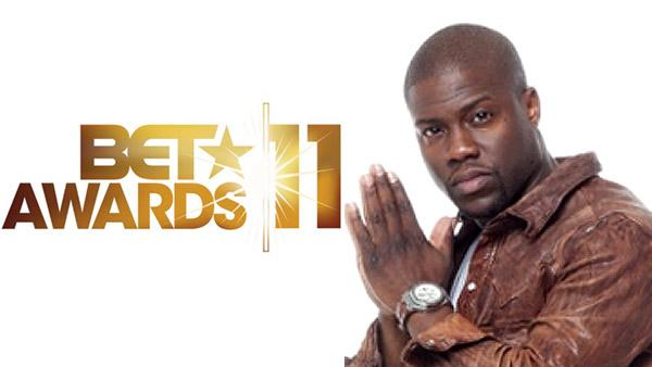 The logo for the 2011 BET Awards. / Kevin Hart, host of the 2011 BET Awards, appears in a promotional photo from the networks website. - Provided courtesy of bet.com