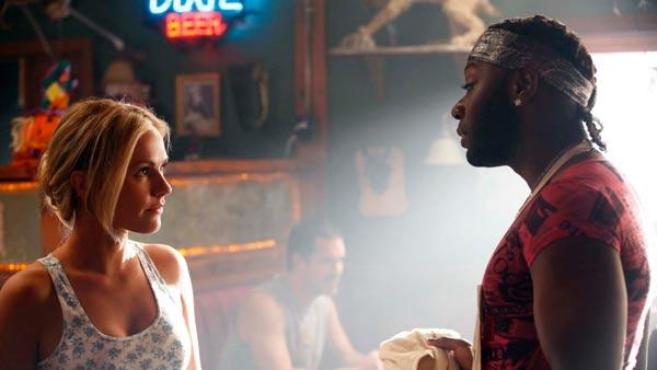 Anna Paquin and Nathan Ellis appear in a scene from the fourth season premiere of True Blood - Provided courtesy of HBO