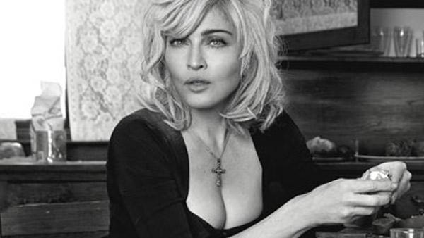 Madonna appears in a Dolce and Gabbana campaign photo posted on her official website. - Provided courtesy of OTRC / Madonna.com / Dolce and Gabbana