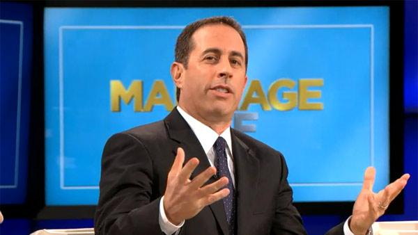Jerry Seinfeld appears on the NBC show The Marriage Ref in an episode that aired on June 26, 2011. - Provided courtesy of NBC