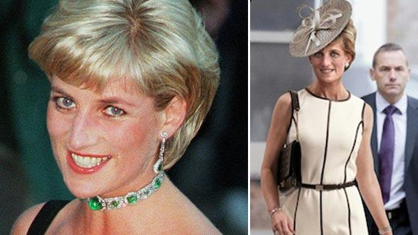 Diana, Princess of Wales, smiles as she arrives at the Tate Gallery in London in this Tuesday July 1, 1997 file photo. / Princess Diana appears on the cover of Newsweek. - Provided courtesy of AP Photo / Jacqueline Arzt / Newsweek / R. Mutt Studios
