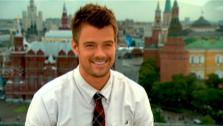 Actor Josh Duhamel talks about what it was like filming the newest Transformers film in Chicago around fans.
