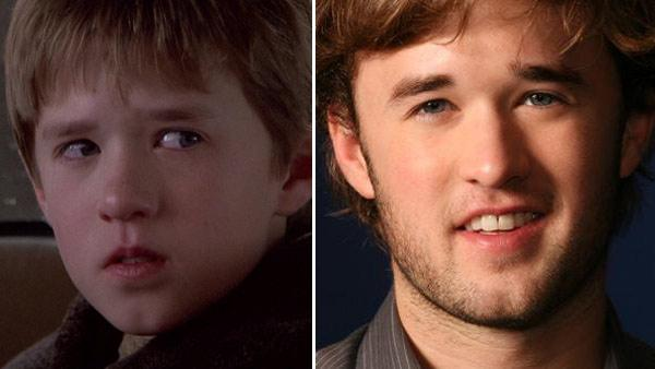 Haley Joel Osment appears in a still from the 1999 film, 'The Sixth Sense.' / Actor Haley Joel Osment poses for a portrait Thursday, Nov. 6, 2008, in New York.