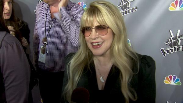 Stevie Nicks on her Voice appearance and says if she was just starting out she would have done reality TV.