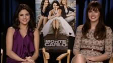 Selena Gomez and Leighton Meester talk about meeting for the first time while shooting the film Monte Carlo.