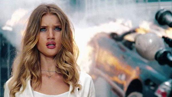 Rosie Huntington-Whiteley appears in a still from Transformers: Dark of the Moon. - Provided courtesy of Paramount Pictures