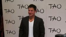 Nick Lachey appears at TAO Las Vegas on July 1, 2011. - Provided courtesy of TAO Las Vegas / twitter.com/taolasvegas