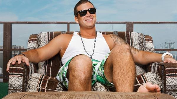 Vinny Guadagnino appears in a promotional photo for MTV show Jersey Shore. - Provided courtesy of MTV Networks