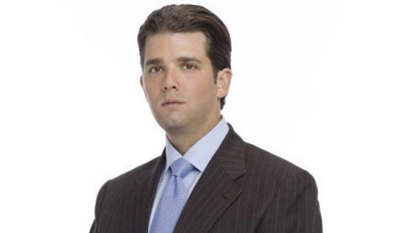 Donald Trump Jr. appears in a promotional photo for 'The Apprentice.'