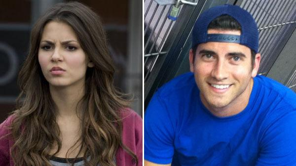 Victoria Justice appears in a still from Victorious. / Ryan Rottman appears in a photo posted on his official Twitpic account on April 27, 2011. - Provided courtesy of Nickeloden / Viocom, International Inc. / Lisa Rose / Twitpic.com/4pz6p0