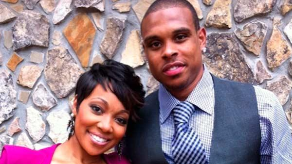 Monica and Shannon Brown pose in a photo from her official Twitter page. - Provided courtesy of Twitter.com/MonicaBrown