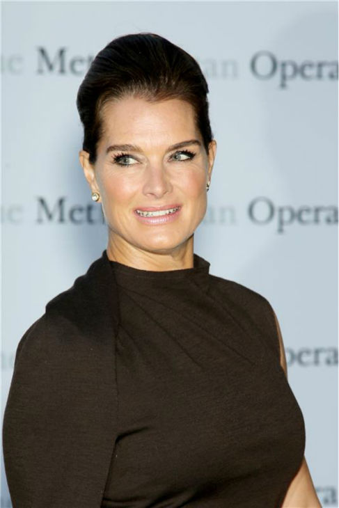 Brooke Shields attends the New York Metropolitan Opera's season opening performance Of Tchaikovsky's 'Eugene Onegin' on Sept. 23, 2013.