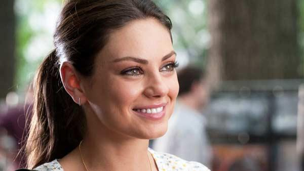 Mila Kunis in a promotional still from the 2011 movie Friends With Benefits. - Provided courtesy of Sony Pictures