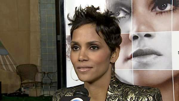 Halle Berry talks to KABC-TV in this undated photo. - Provided courtesy of KABC