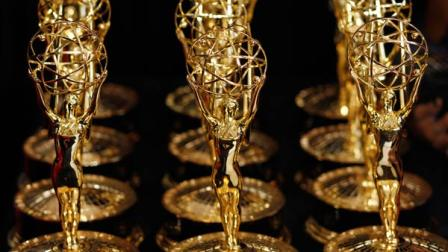Emmy awards are seen in this file photo.