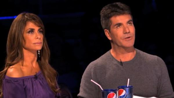 Paula Abdul and Simon Cowell appear in a promo for The X Factor, which debuts on FOX on Sept. 21, 2011. - Provided courtesy of FOX