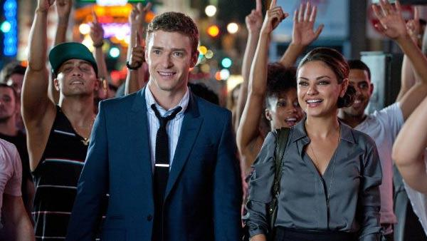 Justin Timberlake and Mila Kunis appear in a promotional still from the 2011 movie Friends With Benefits. - Provided courtesy of Sony Pictures / CTMG / David Giesbrecht
