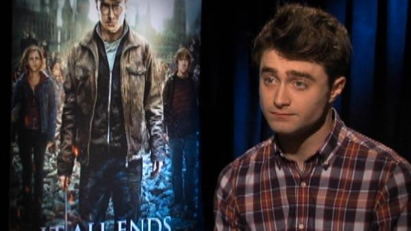 Radcliffe on 'emotional' 'Potter' scene