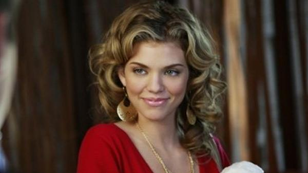 AnnaLynne McCord appears in a still from 90210. - Provided courtesy of CW Television Network