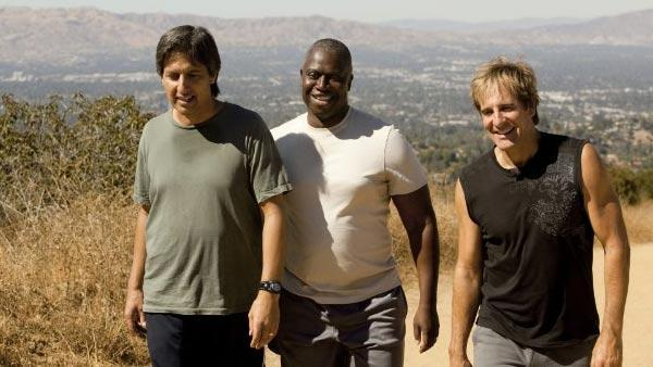 Ray Romano, Andre Braugher and Scott Bakula appear in a still from the TNT series Men of a Certain Age. - Provided courtesy of TNT