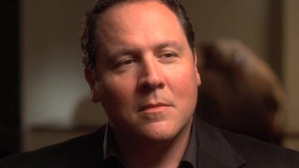 Jon Favreau appears in a still from his Cowboys and Aliens interviews. - Provided courtesy of YouTube