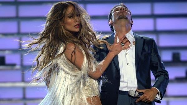 Marc Anthony and Jennifer Lopez perform during the season ten American Idol grand finale at the Nokia Theatre on Weds. May 25, 2011 in Los Angeles, California. - Provided courtesy of Michael Becker/FOX