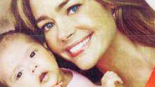 Denise Richards and her adopted daughter appear in a photo posted on her TwitPic account on July 20, 2011. - Provided courtesy of Twitpic.com/5t3fgd / Us Weekly