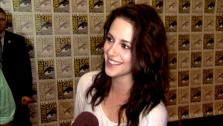 Kristen Stewart talks to OnTheRedCarpet.com about wrapping up The Twilight Saga at San Diego Comic-Con on July 21, 2011. - Provided courtesy of OTRC