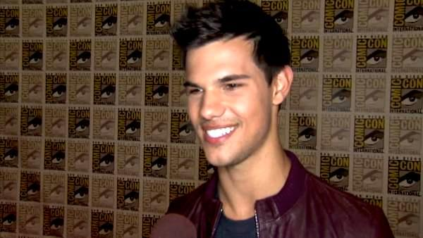 Taylor Lautner talks 'Breaking Dawn'