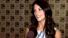 Ashley Greene talks to OnTheRedCarpet.com about wrapping up The Twilight Saga at San Diego Comic-Con on July 21, 2011. - Provided courtesy of OTRC
