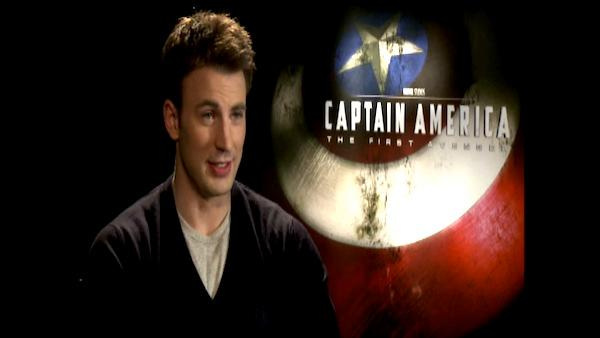 Chris Evans talks about 'Captain America'
