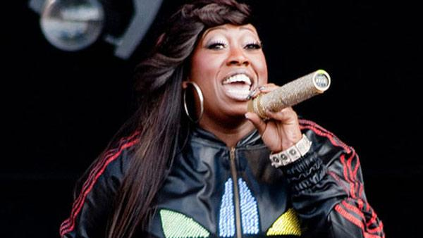 Missy Elliott performs live for a crowd on Feb. 3, 2006.