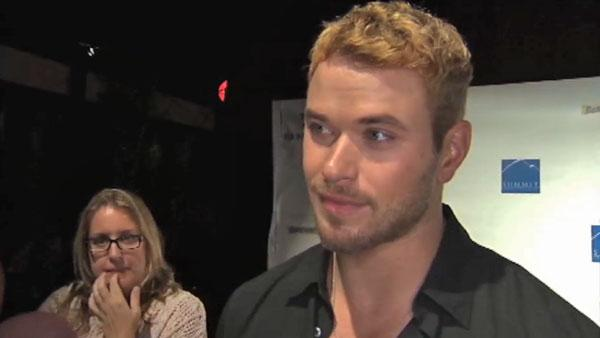 Kellan Lutz talks 'Breaking Dawn' wedding