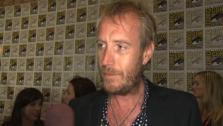 Rhys Ifans talks to OnTheRedCarpet.com at Comic-Con about playing The Lizard in The Amazing Spider- Man.
