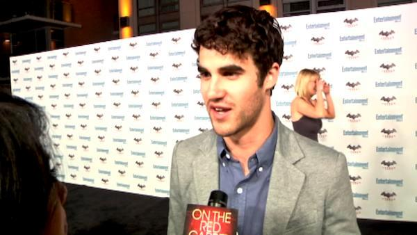 Darren Criss talks 'Glee' at Comic-Con