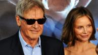 Cowboys & Aliens actor Harrison Ford and his wife Calista Flockhart appear at the films premiere at San Diego Comic-Con on Saturday, July 23, 2011. - Provided courtesy of OTRC