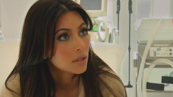 Kim Kardashian appears in a still from Keeping Up with the Kardashians, which aired on July 24, 2011. - Provided courtesy of E! Entertainment