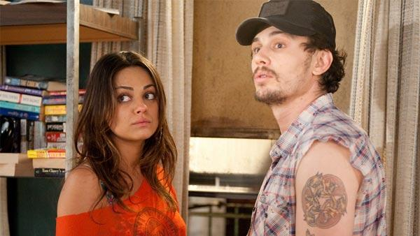 Mila Kunis and James Franco appear in a scene from the 2010 comedy movie Date Night. - Provided courtesy of Twentieth Century Fox Film Corporation