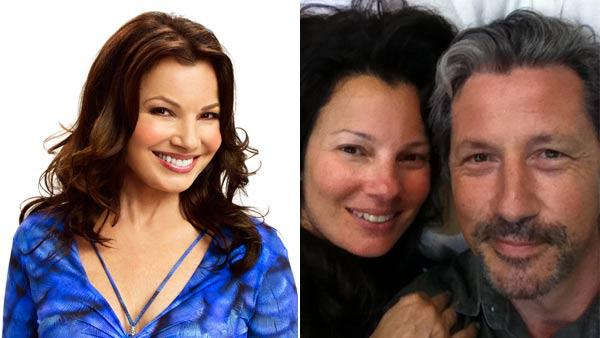 Left: Fran Drescher in a still for Happily Divorced. Right: Fran Drescher and Charles Shaughnessy in a Twitter photo. - Provided courtesy of TV Land / Twitter