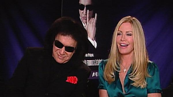 Gene Simmons and Shannon Tweed talk to OnTheRedCarpet.com in March 2010. - Provided courtesy of OTRC