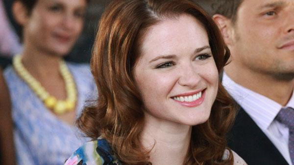 Sarah Drew appears in a scene from the seventh season of Greys Anatomy. - Provided courtesy of ABC