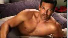Eddie Cibrian appears in a 2011 ad for Charisma bath and bedding. - Provided courtesy of CharismaAtHome.com